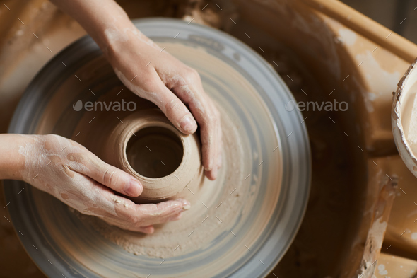 Potter at work - Stock Photo - Images