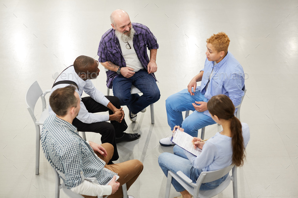 Group Discussion - Stock Photo - Images
