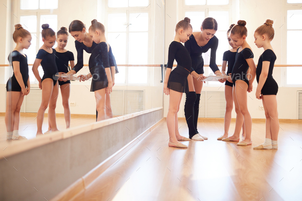Watching Dance Tutorial - Stock Photo - Images