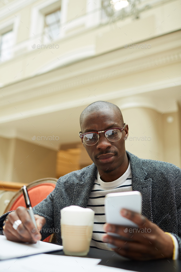 Contemporary African Man - Stock Photo - Images