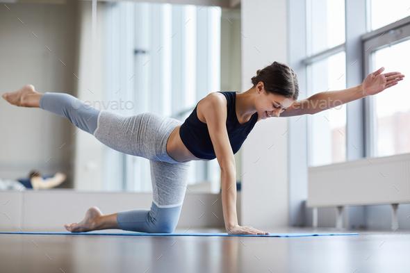 Balancing table pose - Stock Photo - Images