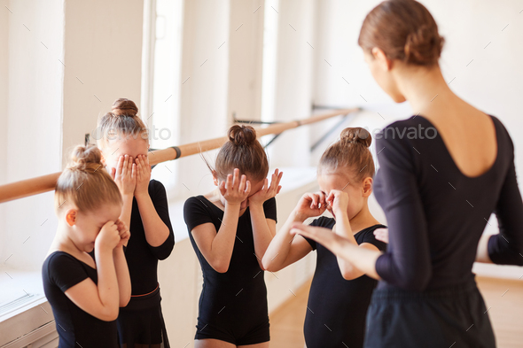 Pep talk in Ballet Class - Stock Photo - Images