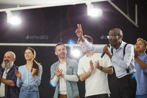 Motivation Seminar - Stock Photo - Images