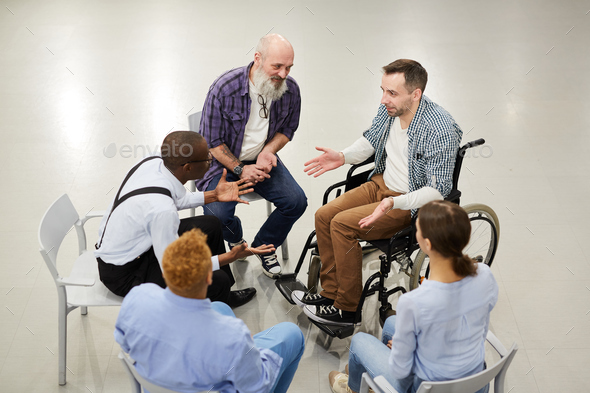 Support Group Circle - Stock Photo - Images
