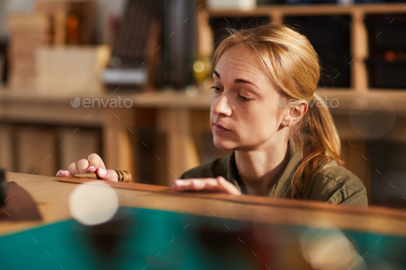 Leather Crafting - Stock Photo - Images