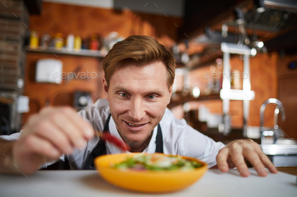 Hot Salad - Stock Photo - Images