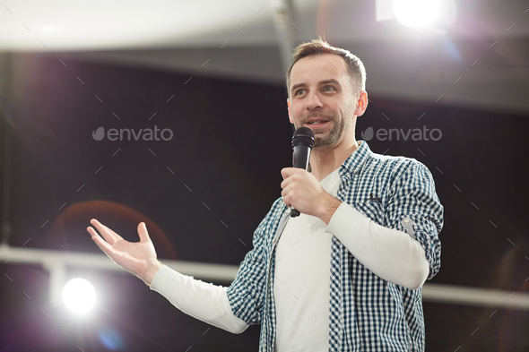 Performance Host - Stock Photo - Images