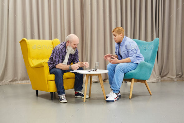 Therapy Session - Stock Photo - Images