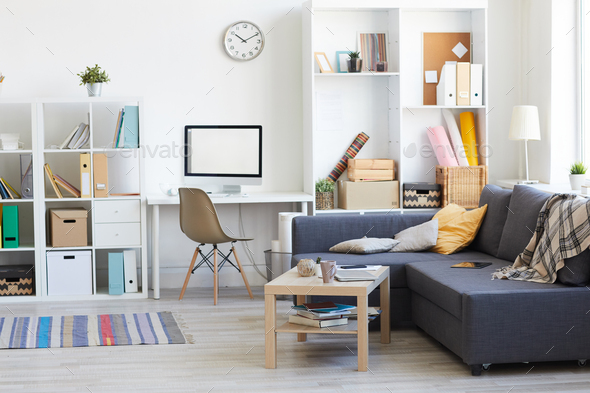 Male Apartment Interior - Stock Photo - Images