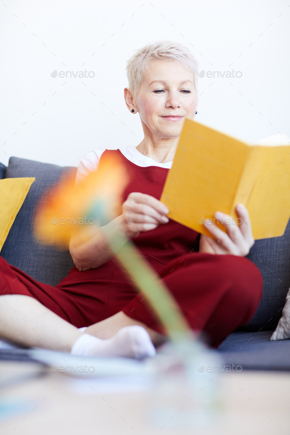 Weekend reading - Stock Photo - Images