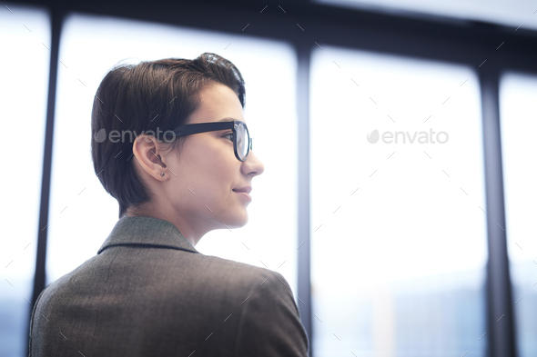 Inspired Businesswoman - Stock Photo - Images