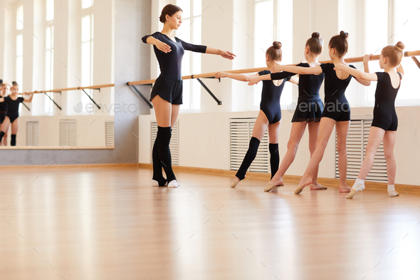 Girls in Ballet School - Stock Photo - Images