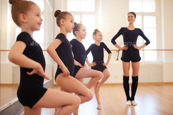 Dance Class for Girls - Stock Photo - Images