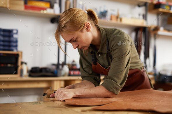 Tannery Shop - Stock Photo - Images