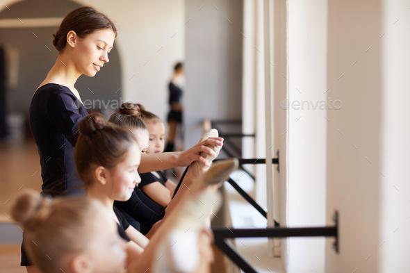 Ballet Practice - Stock Photo - Images