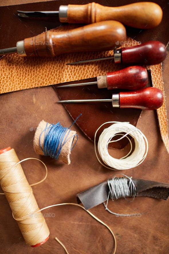 Vintage Leatherwork - Stock Photo - Images