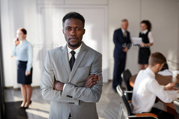 African-American Entrepreneur - Stock Photo - Images