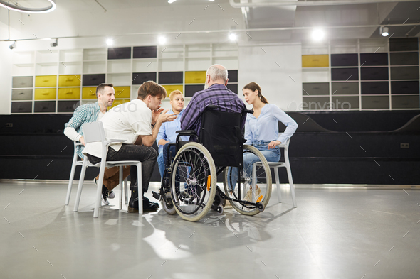 Support Group Meeting - Stock Photo - Images