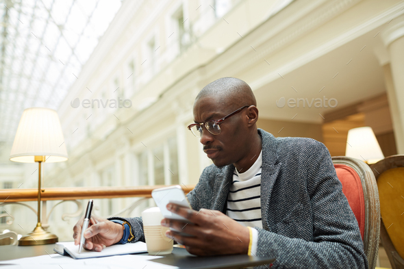 Contemporary African-American Man - Stock Photo - Images