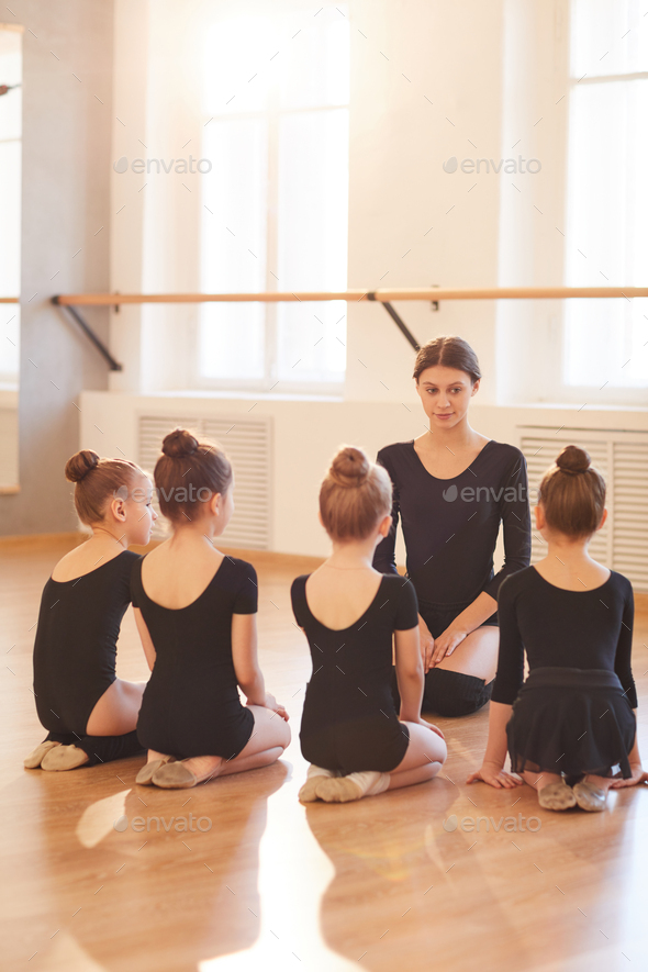 Ballet Class for Kids - Stock Photo - Images