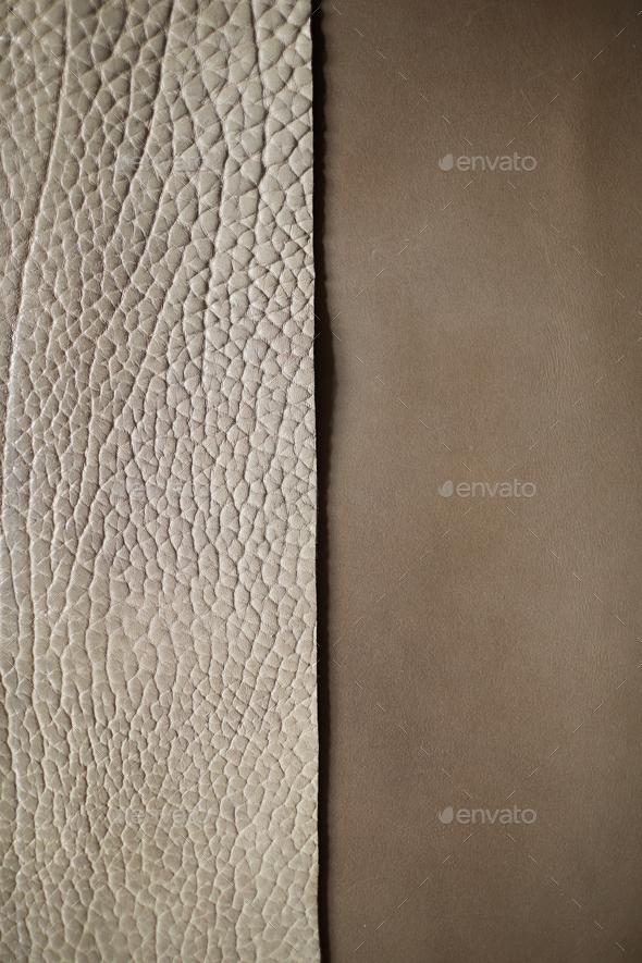 Genuine Leather Background - Stock Photo - Images