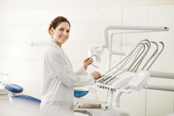 Female Dentist - Stock Photo - Images