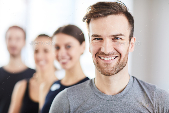 Portrait of handsome guy - Stock Photo - Images