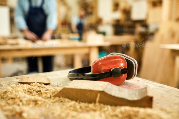 Carpenters Workstation - Stock Photo - Images