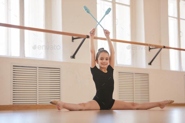 Kid Gymnast - Stock Photo - Images