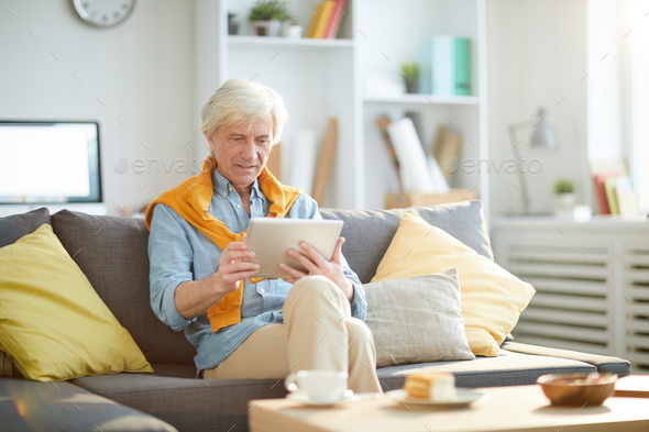 Contemporary Mature Man - Stock Photo - Images