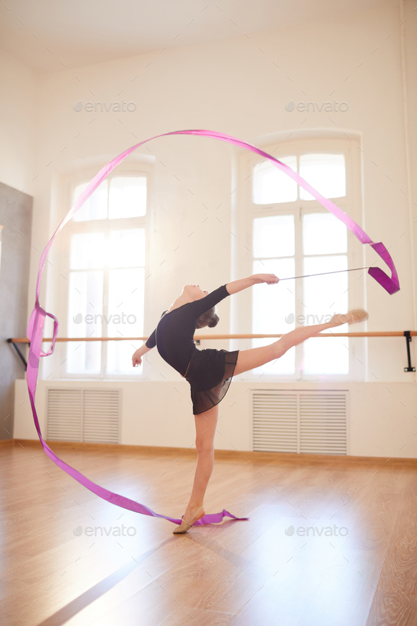 Grceful Gymnast - Stock Photo - Images
