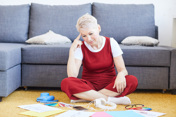 Designer at home - Stock Photo - Images