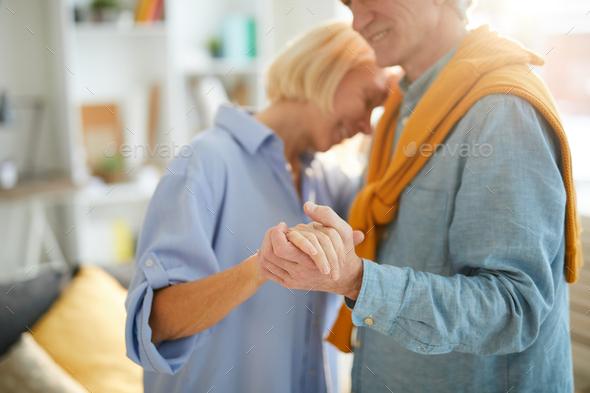 Romantic Senior Couple - Stock Photo - Images