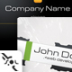 Black White Technology Business Card - GraphicRiver Item for Sale