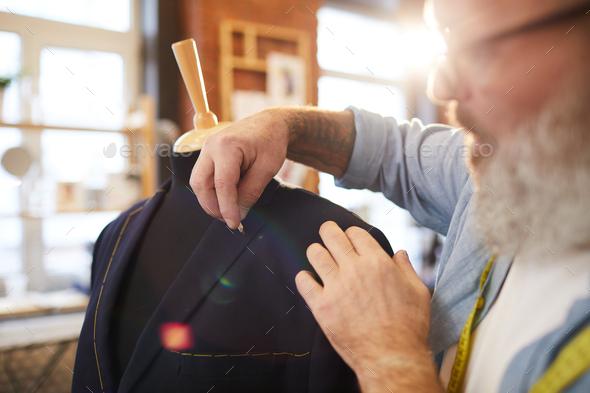 Jacket on dummy - Stock Photo - Images