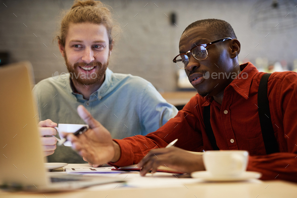 Business Team Using Laptop - Stock Photo - Images