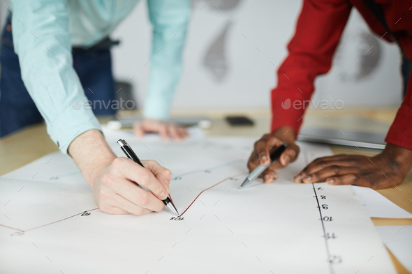Drawing Line Graph - Stock Photo - Images