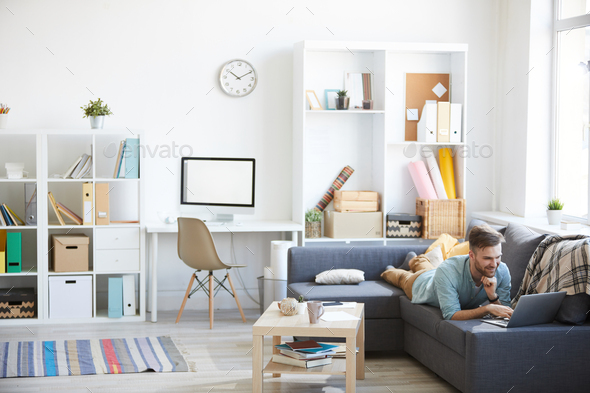 Bachelor Pad Interior - Stock Photo - Images