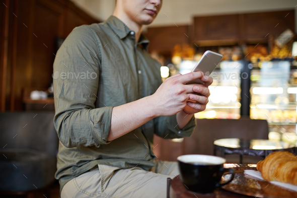 Time in cafe - Stock Photo - Images
