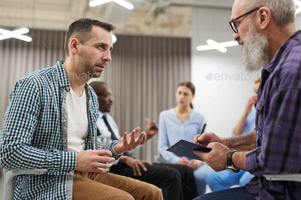 Group Therapy Session - Stock Photo - Images