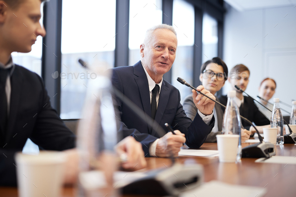 People in Business Forum - Stock Photo - Images
