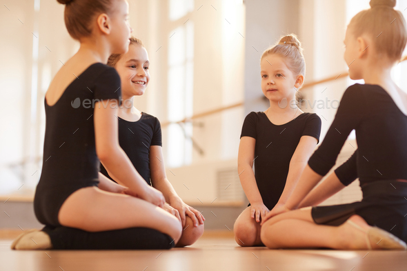 Girls in Dance Class - Stock Photo - Images