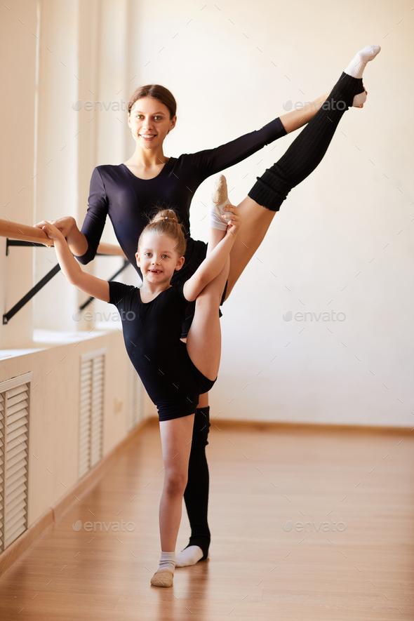 Ballerina Family - Stock Photo - Images