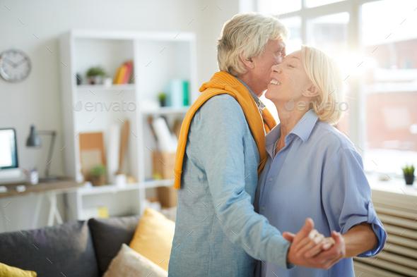 Senior Couple Dancing - Stock Photo - Images