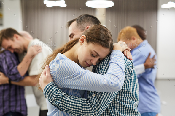 Empathy Exercise in Therapy Session - Stock Photo - Images