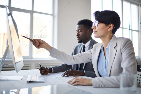 Confident analyst - Stock Photo - Images