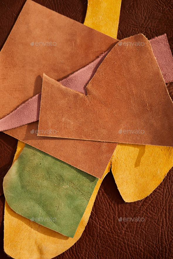 Colored Leather - Stock Photo - Images
