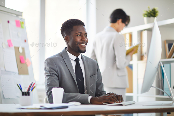 Contemporary analyst - Stock Photo - Images