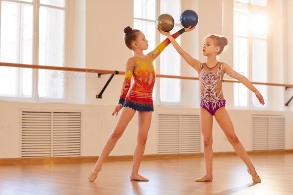 Phytmic Gymnastics - Stock Photo - Images