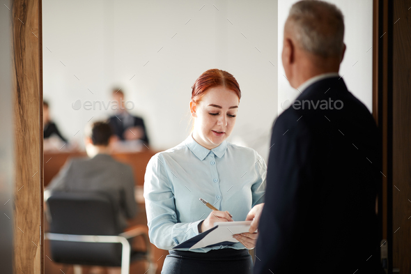 Young Busines Student - Stock Photo - Images